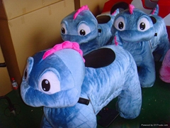 New model plush toy ride