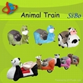 kids animal toy train