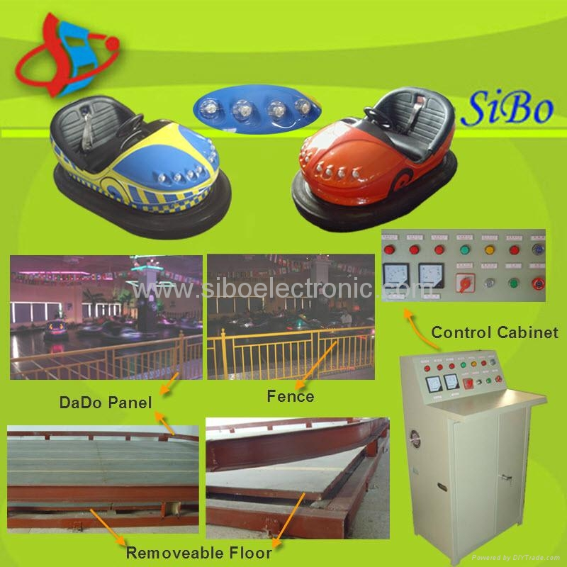 coin operated battery bumper car 1