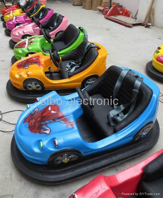 coin operated battery bumper car 2