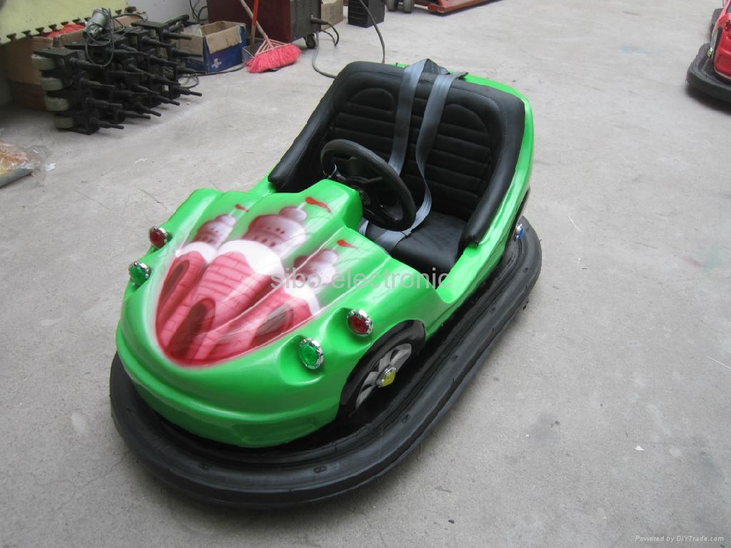 coin operated battery bumper car 5