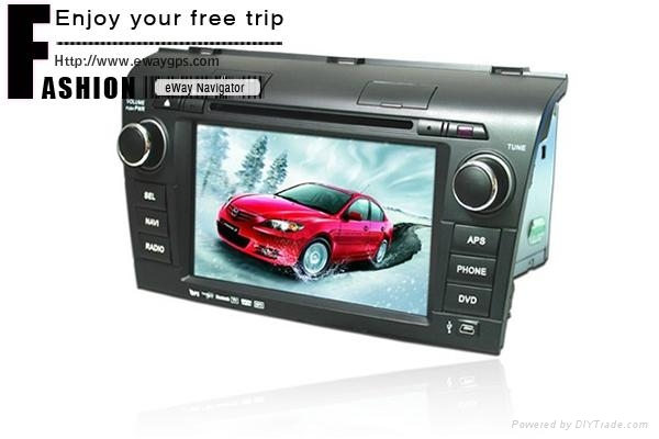 MAZDA 3 Car DVD Player with GPS Navigator 1