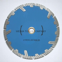 Protected  Continuous Turbo Diamond saw blades