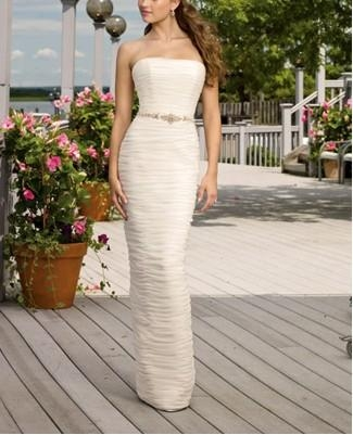 2011 new beach wedding dress 3