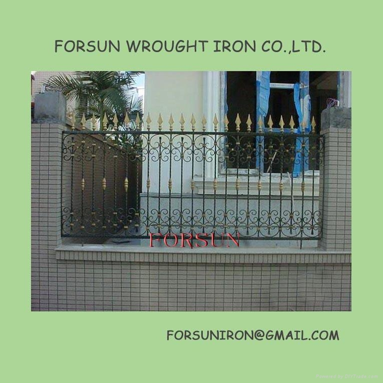 wrought iron fence fsm 117 forsun china other door