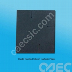 Oxide bonded SiC plate