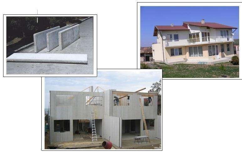 Eps Building Panels For Home : Eps wall panel for villa buildings vj t vanjoin