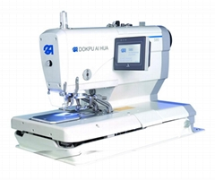 Electronic Eyelet Buttonholer Machine