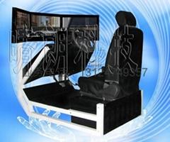 三屏互动式汽车驾驶模拟器