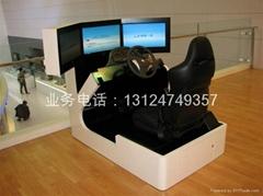 豪华三屏汽车驾驶模拟器