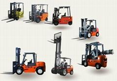 供應各種類型叉車、手推車、堆垛機、高空作業平台等