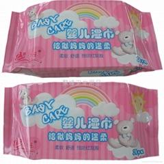 嬰儿80片 枕裝 粉色
