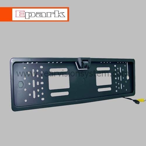 European license plate camera