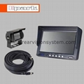 "6 "" rear view monitor with heavy duty camera"