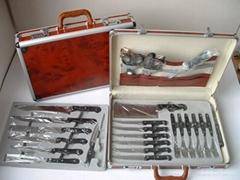 kitchen knife 24pcs/set