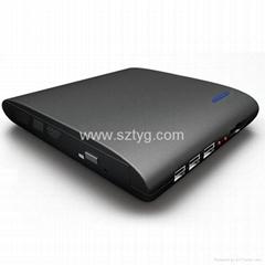 USB2.0 Portable Slim Multifunction Media Player