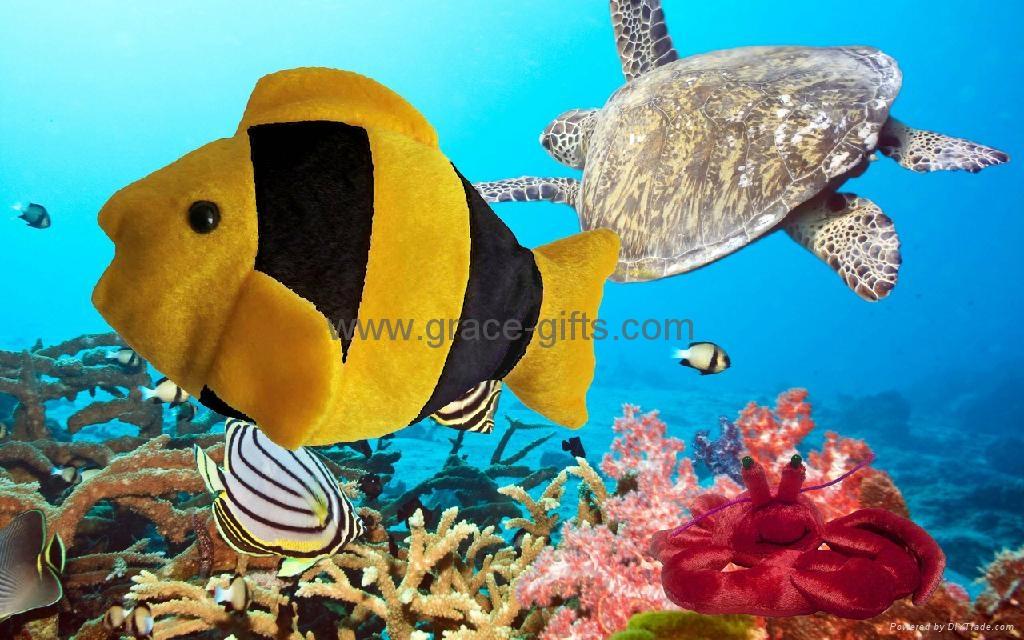 填充毛绒海洋动物玩具 2