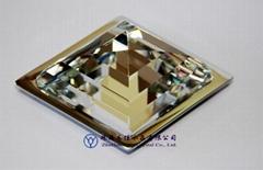 欧式菱形家具水晶装饰