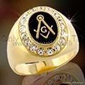 custom jewelry masonic ring