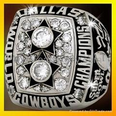 NFL sports custom champions rings 1977