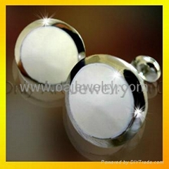 shirt stainless steel cuff link for men