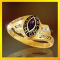 brass custom made class rings for
