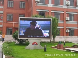 上海銀策供應全彩LED顯示屏 3