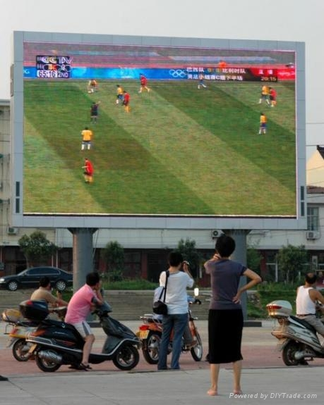 上海銀策供應全彩LED顯示屏 5