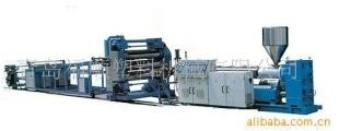 PC.PMMA.PS.HIPS.ABS.PP plastic plate sheet material production line 2