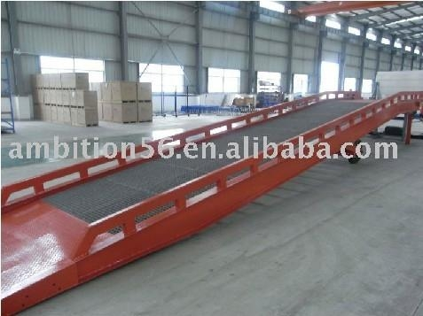 moveable loading ramp