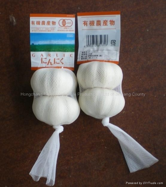 Pure white garlic 3