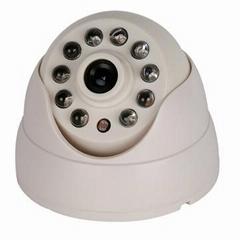 红外半球夜视监控摄像机