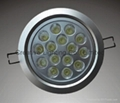 LED DOWNLIGHT 15W/15*1W