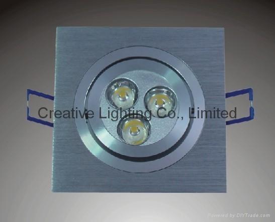 LED DOWNLIGHT  3W/3*1W 1