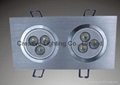 LED DOWNLIGHT 6W/6*1W