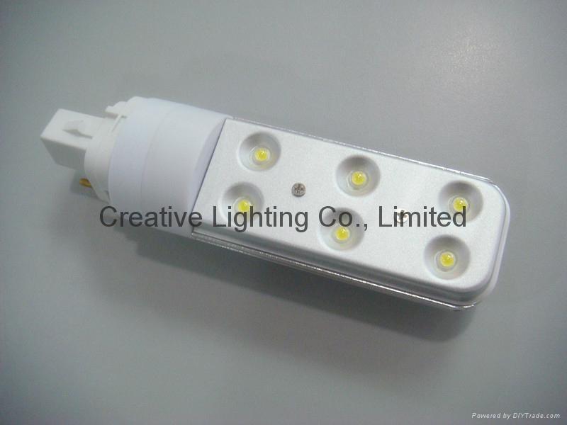 LED PLC LAMP 6w/G24 LAMP 1