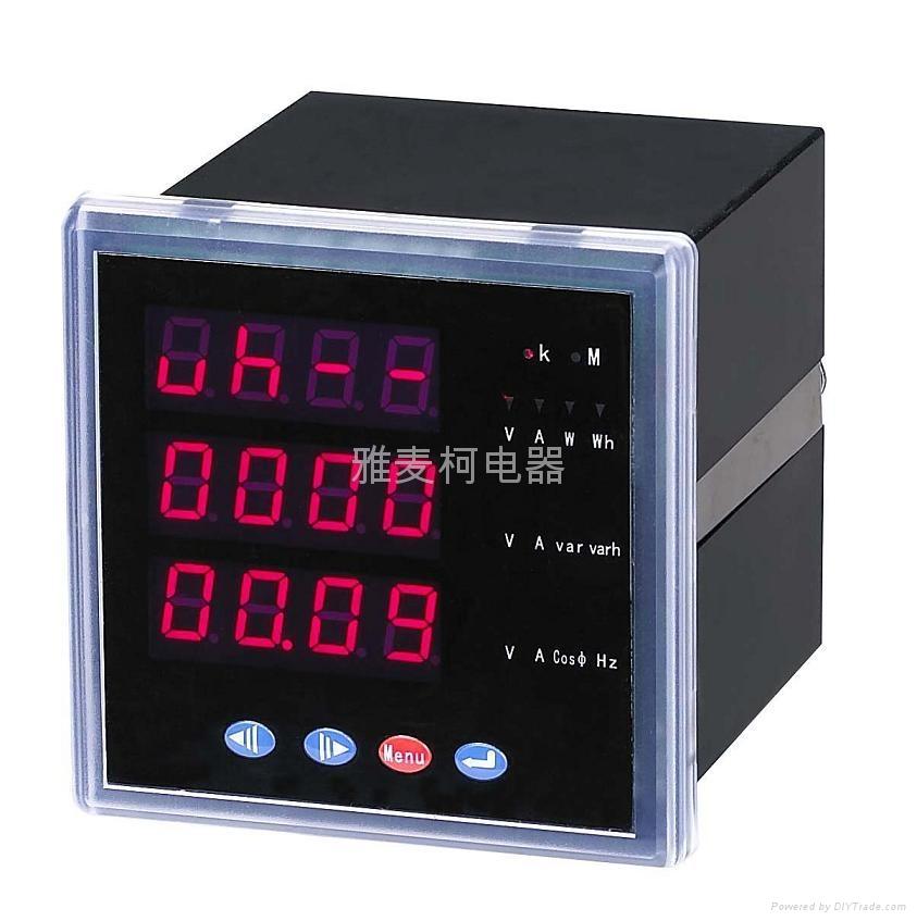 上海PD194E-9S4 PD194E-2S4多功能电力仪表 1