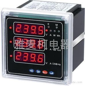 上海PD194E-9S4 PD194E-2S4多功能电力仪表 5