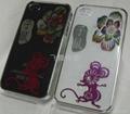 手機裝飾殼彩雕生肖