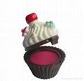 Cup cake lip gloss
