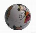 Ball lip balm case