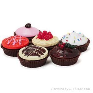 Cup cake lip gloss 1