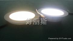 侧发光led吸顶天花筒灯