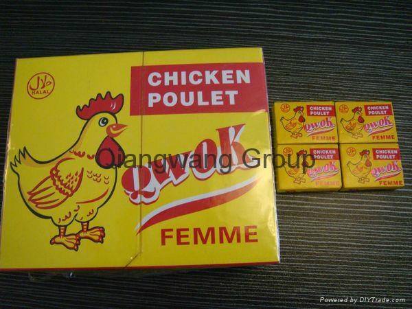 Muslim chicken soup cube 3