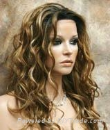 color mixed lace wigs 1