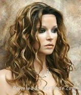 color mixed lace wigs