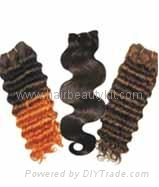 human hair extension wigs 4