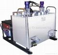 液壓雙缸熱熔釜