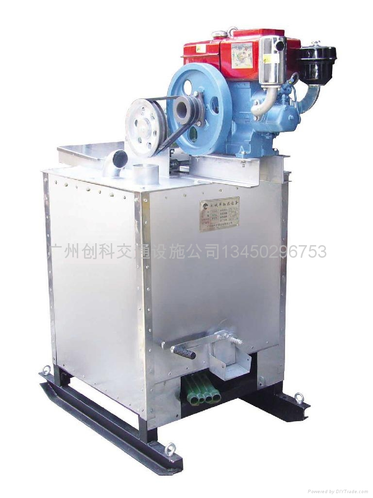 機械單缸熱熔釜 1
