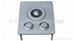 IP65 vandal proof industrial metal trackball(X-BP2F)